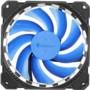乔思伯FR-401炫光蓝 12CM机箱风扇 (LED发光风扇/主板3PIN接口+电源D型口接口)图片