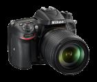 尼康D7200 APS-C画幅单反相机外观图片7