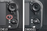 尼康D810 全画幅单反相机对比图片8