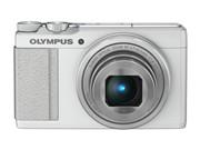 奥林巴斯 XZ-10 数码相机 白色(1000万像素 3.0英寸液晶屏 4倍光学变焦 28mm广角 内置4G卡)图片1
