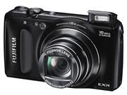 富士 F665EXR 数码相机 黑色(1600万像素 15倍光学变焦 3英寸液晶屏 24mm广角)图片1