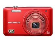奥林巴斯 D-745 数码相机 红色(1400万像素 3英寸液晶屏 5倍光学变焦 26mm广角)图片1