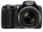 尼康 L810 数码相机 黑色(1614万像素 3英寸液晶屏 26倍光变 22.5mm广角)图片1