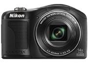 尼康 L610 数码相机 黑色(1602万像素 3英寸液晶屏 14倍光学变焦 25mm广角)图片2