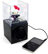 让Hello Kitty做DJ iPod可爱音箱外设