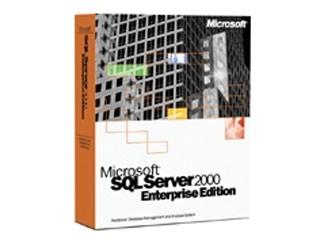 微软SQL Server 2000 中文企业版(1CPU)