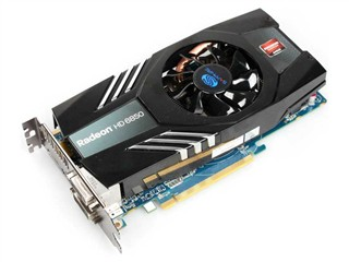 蓝宝石HD6850 1G DDR5
