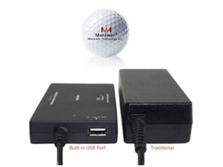 Morewer戴尔 超薄 笔记本电源适配器 19.5V 4.62A)90W 7.4*5.0mm