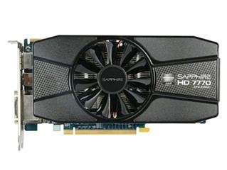 蓝宝石HD7770 2GB GDDR5 白金版