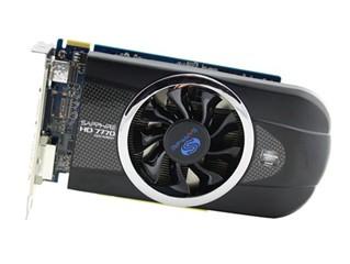 蓝宝石HD7770 1G GDDR5 网吧版