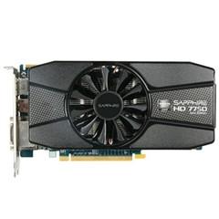 蓝宝石HD 7750 2GB GDDR5 白金版 900MHz/4500MHz 2G/128bit GDDR5 PCI-E 显卡
