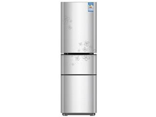 康佳BCD-192MT-GY 192升三门冰箱(银色)