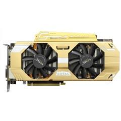 索泰GTX760-2GD5至尊OC+ 1137-1202MHz\6208MHz 2G\256bit GDR5 PCI-E显卡