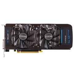 影驰GTX770四星黑将 1110MHz/7010MHz 2G/256bit DDR5 PCI-E显卡