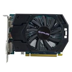 蓝宝石HD7770 1G GDDR5 白金版2代 950/4500MHz 1GB/128bit GDDR5 PCI-E 显卡