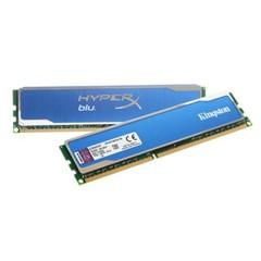 金士顿骇客神条 Blu系列 DDR3 1600 16GB(8Gx2条)台式机内存(KHX16C10B1K2/16X)