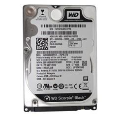 西部数据黑盘 500G SATA3Gb/s 7200转16M 笔记本硬盘(5000BPKT)