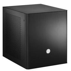 乔思伯V2 ITX机箱 全铝 黑色 支持MICRO小电源
