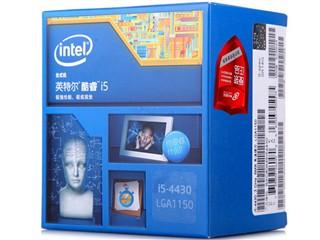Intel酷睿四核i5-4430 Haswell全新架构盒装CPU(LGA1150/3.0GHz/6M三级缓存/84W/22纳米)