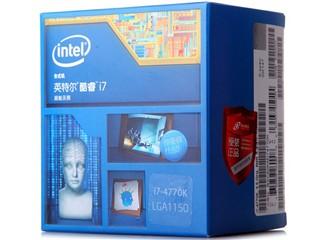 Intel酷睿四核i7-4770k Haswell全新架构盒装CPU(LGA1150/3.5GHz/8M三级缓存/84W/22纳米)
