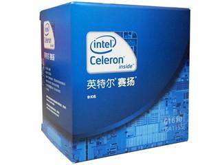 Intel赛扬双核G1610 盒装CPU (LGA1155/2.6GHz/2M三级缓存/55W/22纳米)