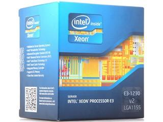 Intel至强四核E3-1230V2 盒装CPU(LGA1155/3.30GHz/8M三级缓存/69W/22纳米)