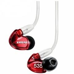 舒尔SHURE SE535LTD 舞台绕耳(红色)