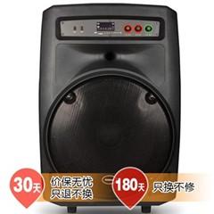 新科V18 户外广场拉杆音响 15寸大功率便携移动音箱