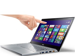 NEC LZ650/NSS 13.3英寸超极本(i5-4200U/4G/128G SSD/核显/触控屏/蓝牙/Win8.1/银色)