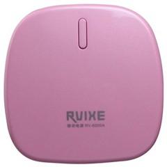 Rvixe RV-6000A 能量香皂 充电宝 6000毫安 移动电源  可爱粉