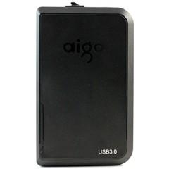爱国者HD806 移动存储王 移动硬盘 USB3.0 1T(黑色)