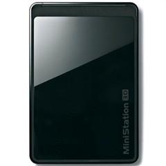巴法络2.5英寸移动硬盘HD-PCT500U3/B(USB3.0)500G(玛瑙黑)