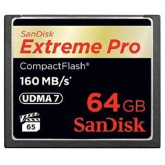 闪迪CF存储卡 Extreme Pro至尊超极速 64G-160MB/s