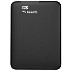 西部数据Elements 新元素系列 2.5英寸 USB3.0 移动硬盘 1TB(BUZG0010BBK)