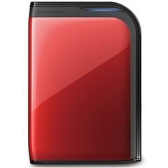 巴法络2.5英寸 移动硬盘 USB3.0 HD-PZ500U3R-CH  500G(红色)