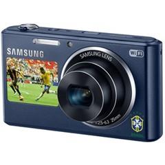三星DV2014F 数码相机 钴黑色(1620万像素 5倍光变 25mm广角 智能双屏 WiFi上传 内置4G卡)