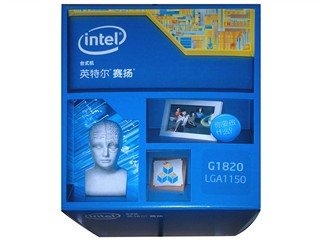 Intel赛扬双核 G1820 Haswell 盒装CPU(LGA1150/2.7GHz/2M三级缓存/53W/22纳米)