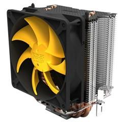 超频三黄海豪华  智能温控 全平台CPU散热器(4条纯铜热管/LED智能静音风扇)
