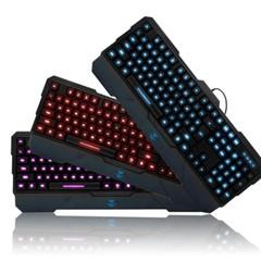狼蛛龙牙二代 CFDOTA专业游戏键盘 三色背光切换可调