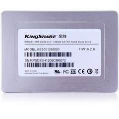 金胜E200系列 128G 2.5英寸SATA-2固态硬盘 (KE200128SSD)