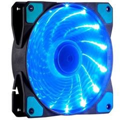 至睿旋驰H120D (炫酷15组LED灯+22dB极静音+强劲风量+扇框防震) (机箱风扇)(蓝灯)