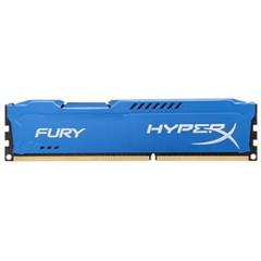 金士顿骇客神条 Fury系列 DDR3 1600 8GB台式机内存(HX316C10F/8)蓝色