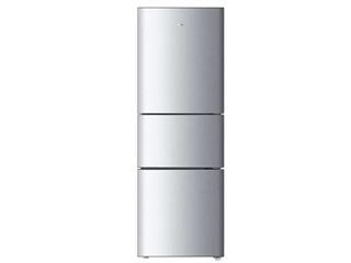 海尔BCD-205STPH 205升三门冰箱(银色)