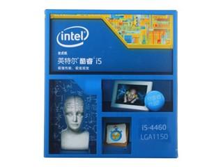 Intel酷睿i5-4460 22纳米 Haswell全新架构盒装CPU (LGA1150/3.2GHz/6M三级缓存)