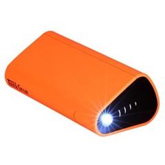 泰克思达PBF 德国品牌 充电宝10400毫安手机充电宝 便携移动电源 手机平板双充 创意支架 橙色