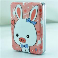 新科S168手机 充电宝10000毫安 移动电源   超薄 猪兔子