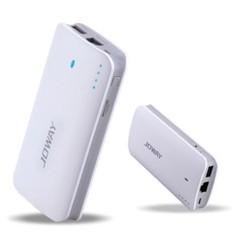 乔威360wifi2 3G无线路由器 手机通用充电宝 wifi移动电源 8400毫安