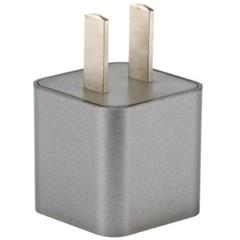 品胜爱充1A(Smart) 手机充电器 银灰色