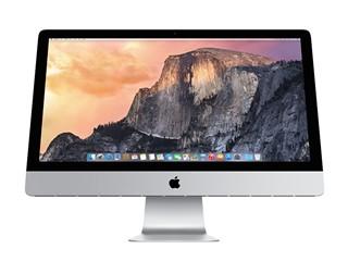苹果iMac Retina 5K显示屏 MF886CH/A 27英寸一体电脑(四核i5/8G/1T/R9 M290X 2G独显/OS X Yosemite)
