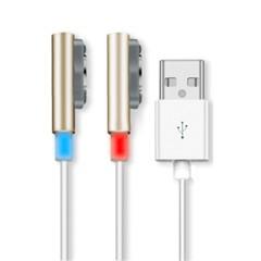 易思博索尼L39H磁力线数据充电线 适用于索尼Z1/Z2磁力线/Z3充电线L50T磁吸线 金色